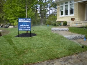 lawn sprinkler system in dover nh