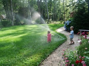 lawn sprinkler system in hampton nh
